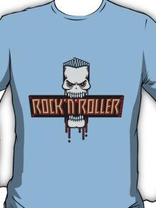 Rock 'N' Roller Skull T-Shirt