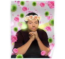 Flower Crown Misha  Poster