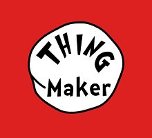 Thing Maker -  Women's Fitted V-Neck T-Shirt