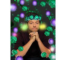 Flower Crown Misha 2 Photographic Print