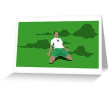 Robbie Brady through the Foggy Dew Greeting Card