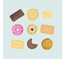 Biscuits for Tea Photographic Print