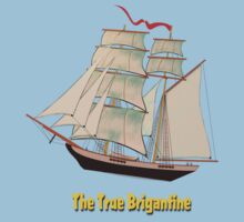 A True Brigantine T-shirt Kids Clothes