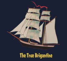 A True Brigantine T-shirt by Dennis Melling