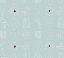 Biscuit doodles by sazzlepop