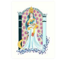 Tarot High Priestess Art Print