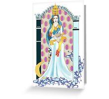 Tarot High Priestess Greeting Card