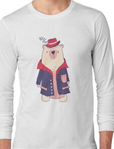 Coat winter bear Long Sleeve T-Shirt