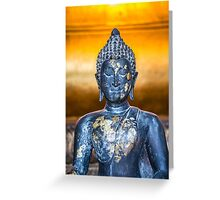 Buddha Statuette in Wat Pho Greeting Card