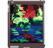 Blue swamp iPad Case/Skin