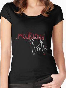Mudblood Pride (version 2, white) Women's Fitted Scoop T-Shirt