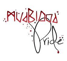 Mudblood Pride (version 2, black) Photographic Print