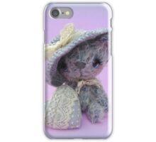 Handmade bears from Teddy Bear Orphans - Mia iPhone Case/Skin