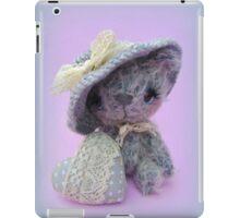 Handmade bears from Teddy Bear Orphans - Mia iPad Case/Skin