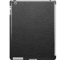 Black/Grey Leather iPad Case/Skin