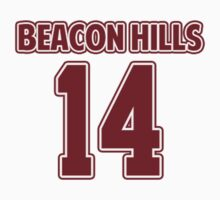 Isaac Lahey 14 Beacon Hills Lacrosse Jersey by hanelyn