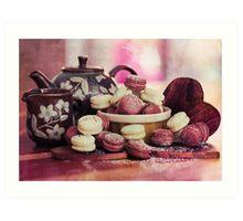 Teatime Treats Art Print