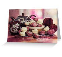 Teatime Treats Greeting Card