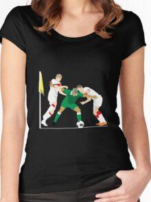Jonathan Walters: Irish Warrior Women's Fitted Scoop T-Shirt