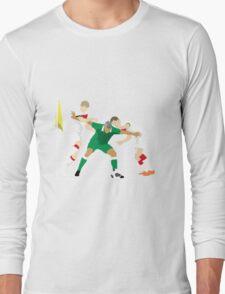 Jonathan Walters: Irish Warrior Long Sleeve T-Shirt