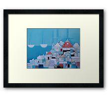 Casas Perlo Mar II Framed Print