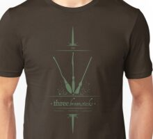 The Three Broomsticks in Green Unisex T-Shirt