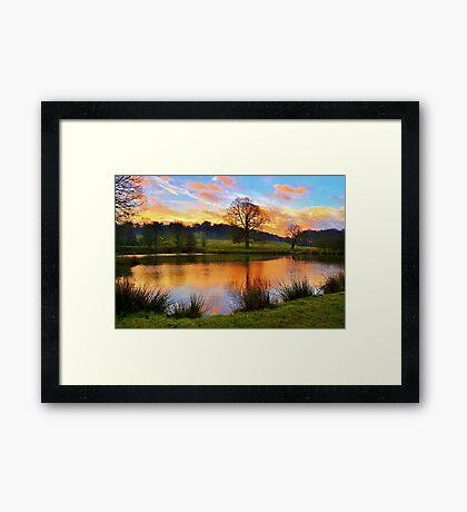 Hardwick View Framed Print