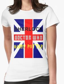 SHERLOCK DOCTOR WHO & HARRY POTTER T-Shirt