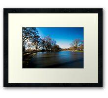 Lakeside Jesmond Dean Framed Print