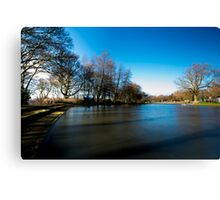 Lakeside Jesmond Dean Canvas Print