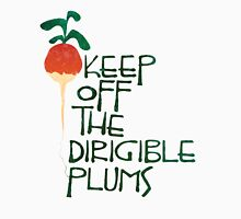 Keep Off the Dirigible Plums Men's Baseball ¾ T-Shirt