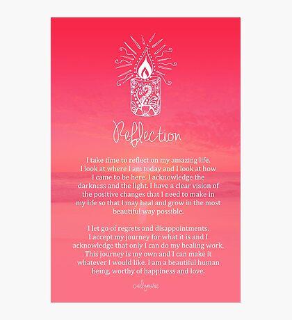 Affirmation - Reflection Photographic Print