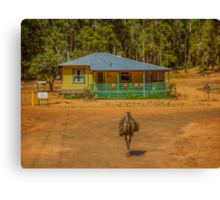 Emu - Home Alone Canvas Print