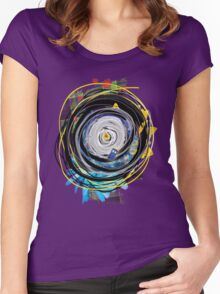 JNT Hawaiian Time Vortex Women's Fitted Scoop T-Shirt