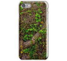 Roots and Plants Texture iPhone Case/Skin