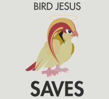 Twitch Plays Pokemon: Bird Jesus Saves - Light with Dark Text by Twitch Plays Pokemon