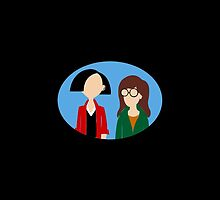 Daria and Jane by alexisalion