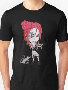 Gothic Punk Alternative Rock Funny Caricature T-Shirt