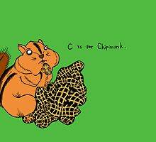 C is for Chipmunk. by tessfan99