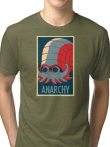 The Almighty Helix - TwitchPlaysPokemon Tri-blend T-Shirt