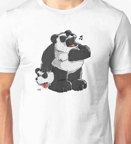 Killer Panda Bear Unisex T-Shirt