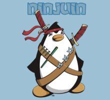 Ninjuin - The Ninja Penguin One Piece - Short Sleeve