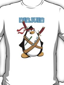 Ninjuin - The Ninja Penguin T-Shirt