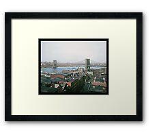 Brooklyn Bridge, New York, ca. 1904 Framed Print