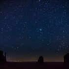 Monument Valley Starry Night by Philip Kearney