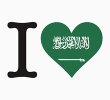 I Love Saudi Arabia by artpolitic