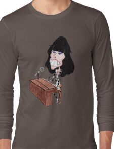 Classic Rock 70's Funny Caricature Long Sleeve T-Shirt