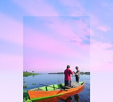 Phone case: Canoe Maracaibo Fishers by Steven House