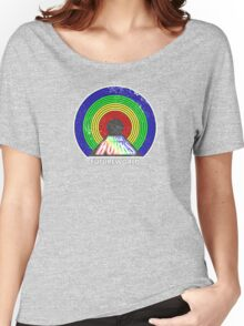 A Rainbow Tunnel Did Exist. Women's Relaxed Fit T-Shirt