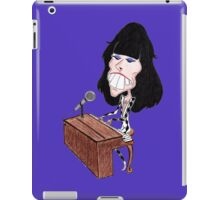 Classic Rock 70's Funny Caricature iPad Case/Skin